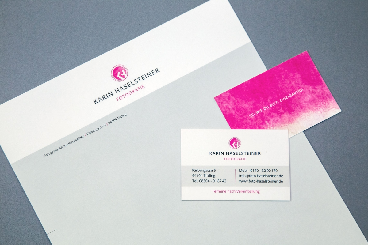 Karin Haselsteiner Corporate Design | Werbeagentur Ritter