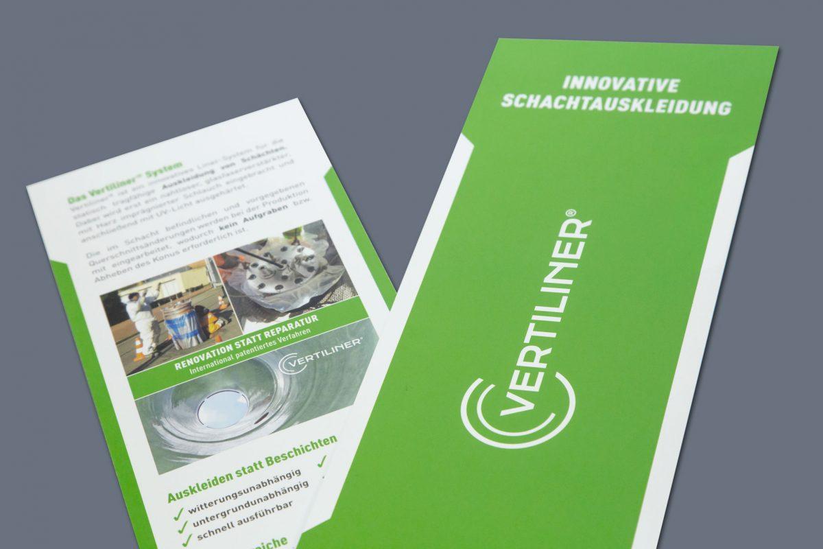 Vertiliner Flyer | Werbeagentur Roland C. Ritter