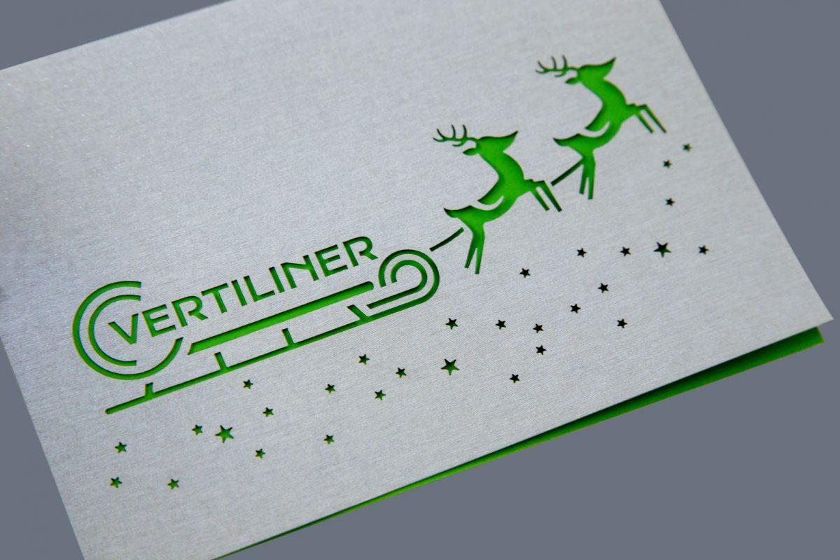 Vertiliner Weihnachtskarte | Agentur Roland C. Ritter