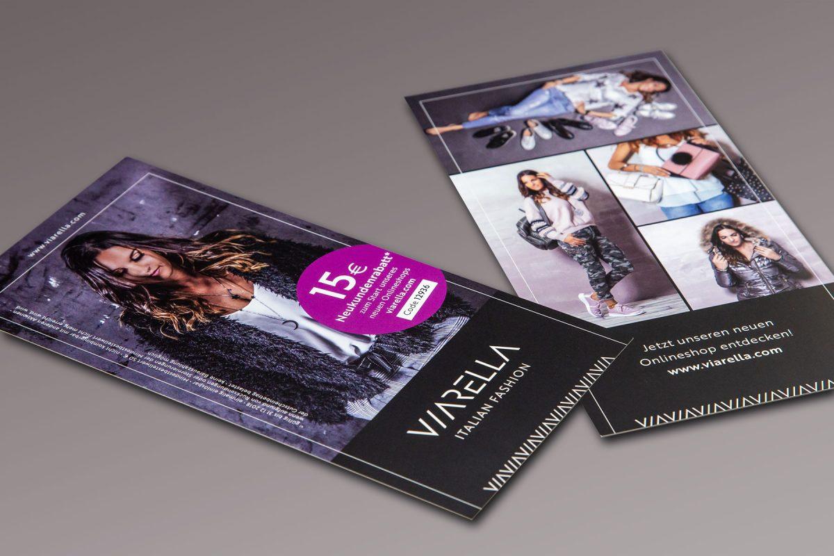 Viarella Flyer | Werbeagentur Roland C. Ritter