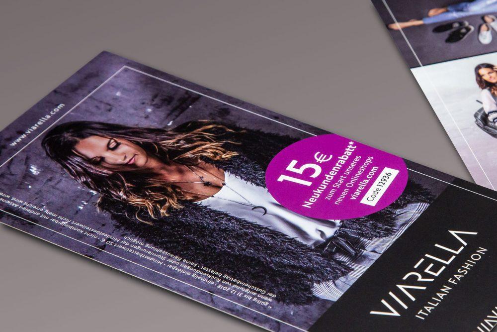 Viarella | Leistung Flyer