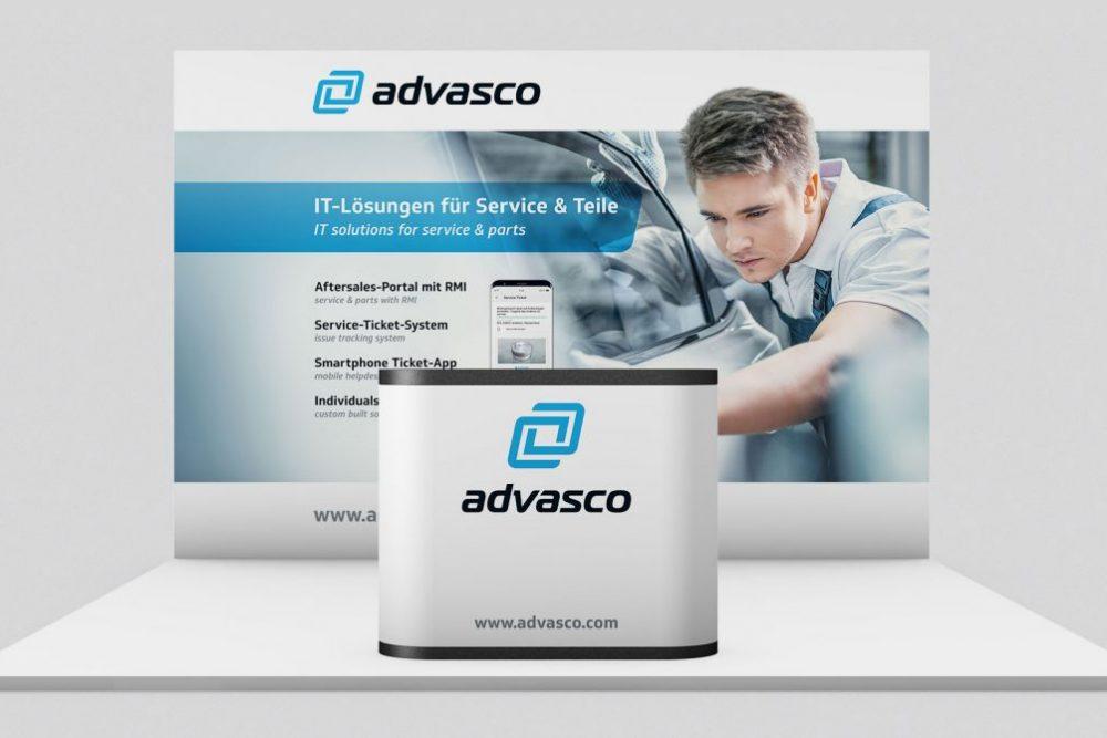 advasco | Leistung Messeauftritt