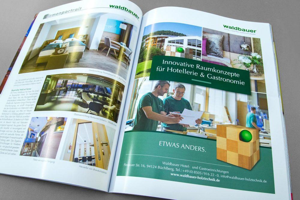 Anzeige architektur international Waldbauer | Roland C. Ritter