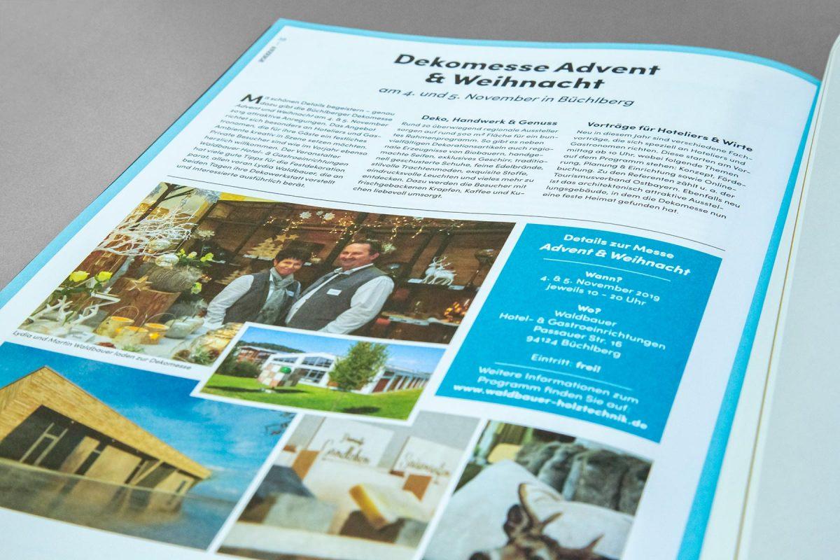 Anzeige PASTA Waldbauer | Werbeagentur Ritter