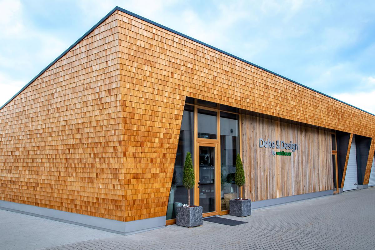 Beschriftung Waldbauer - Deko & Design | Agentur Ritter