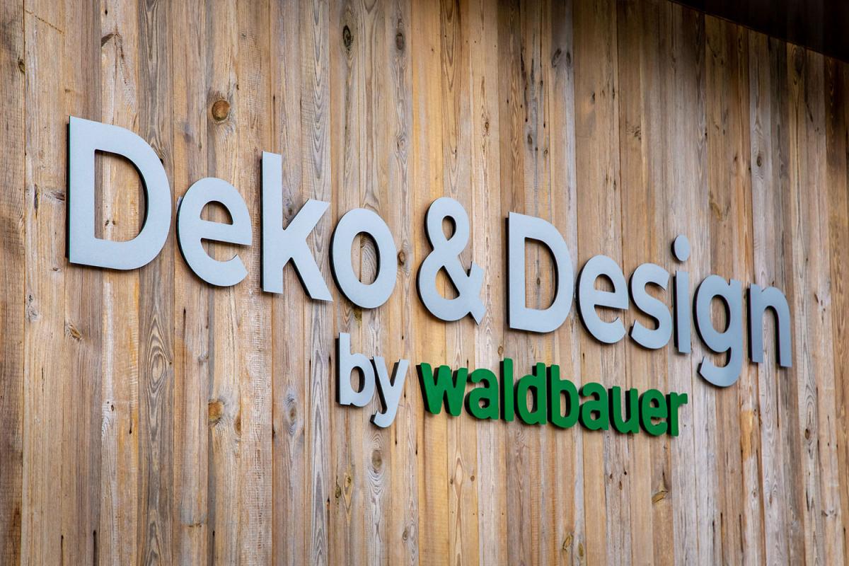 Beschriftung Waldbauer - Deko & Design - Logo | Agentur Ritter
