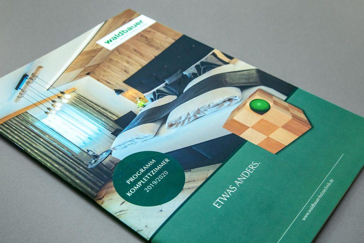 Broschüre Komplettzimmer - Waldbauer Hotel- und Gastroeinrichtungen