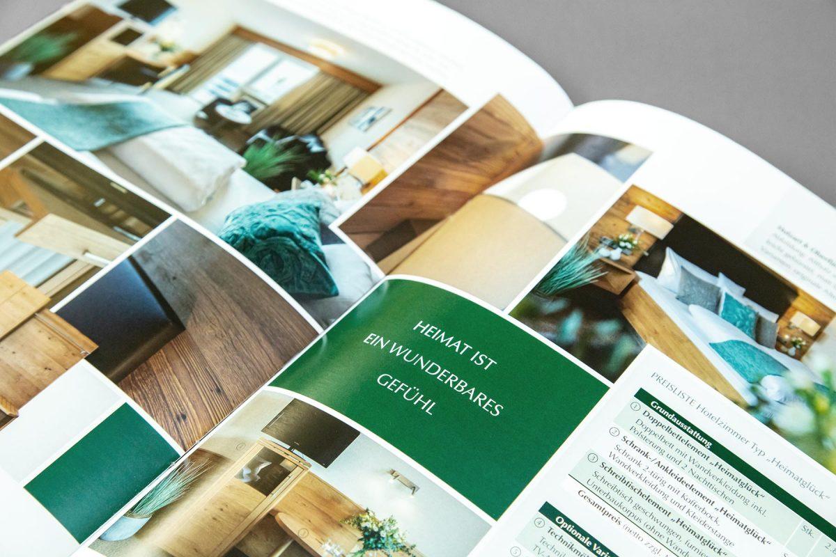 Broschüre Komplettzimmer - Waldbauer Einrichtungen