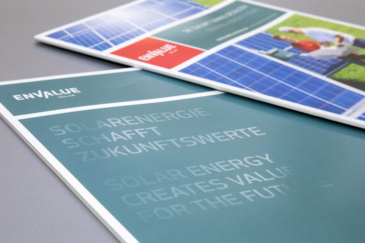 Envalue Solar Broschuere Detail | Agentur Ritter