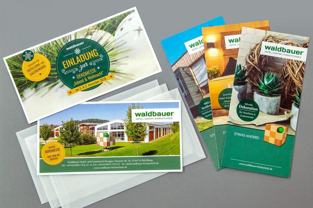 Waldbauer Flyer | Referenz Agentur Ritter