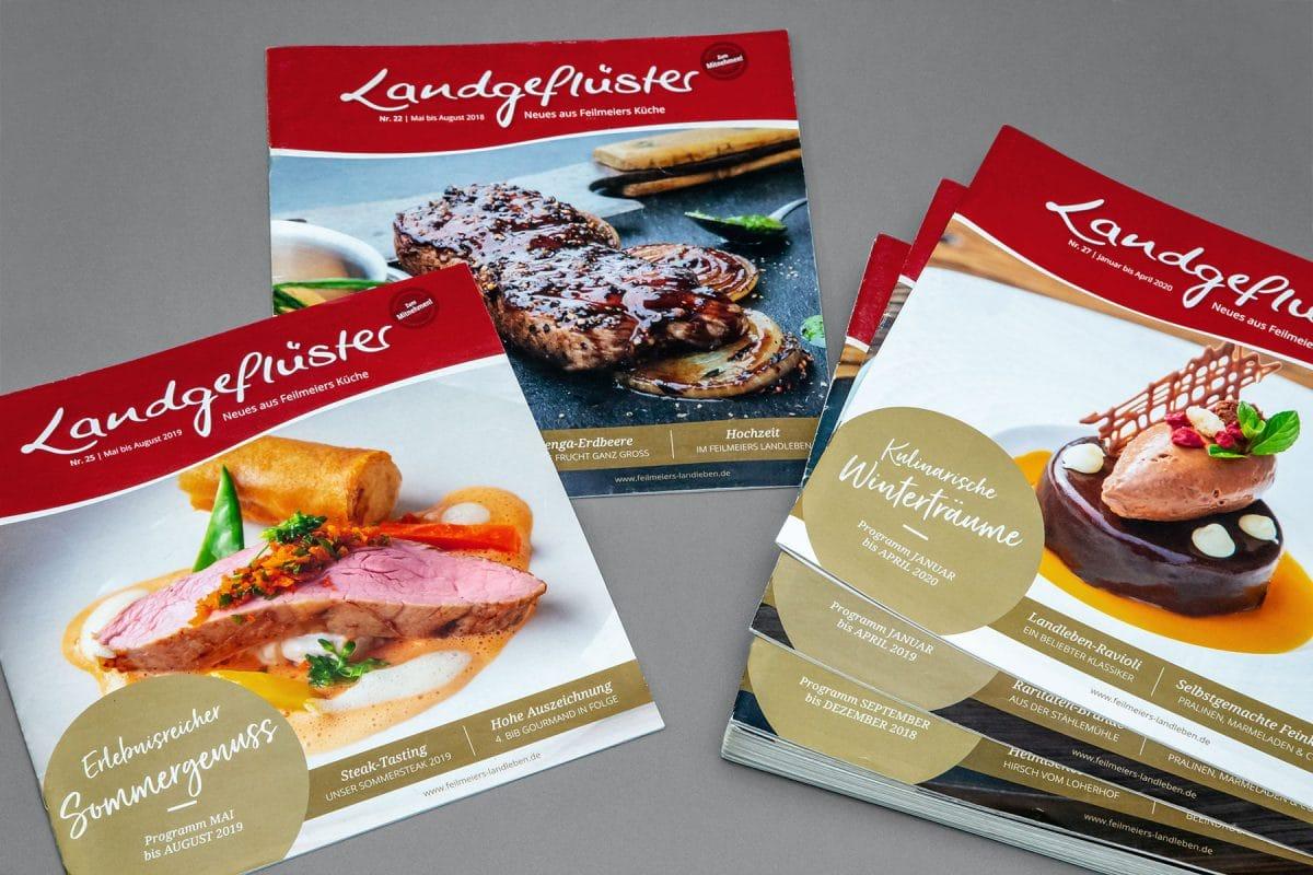 Hauszeitung Landgeflüster Feilmeiers Landleben | Roland C. Ritter