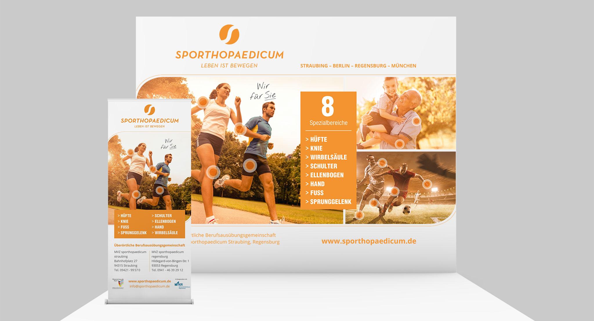 Messeaufritt sporthopaedicum | Agentur Ritter