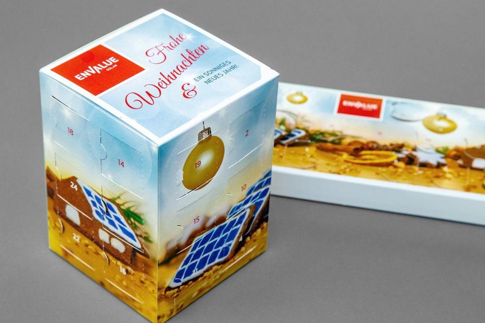 Adventskalender Envalue GmbH | Give-away Agentur Ritter