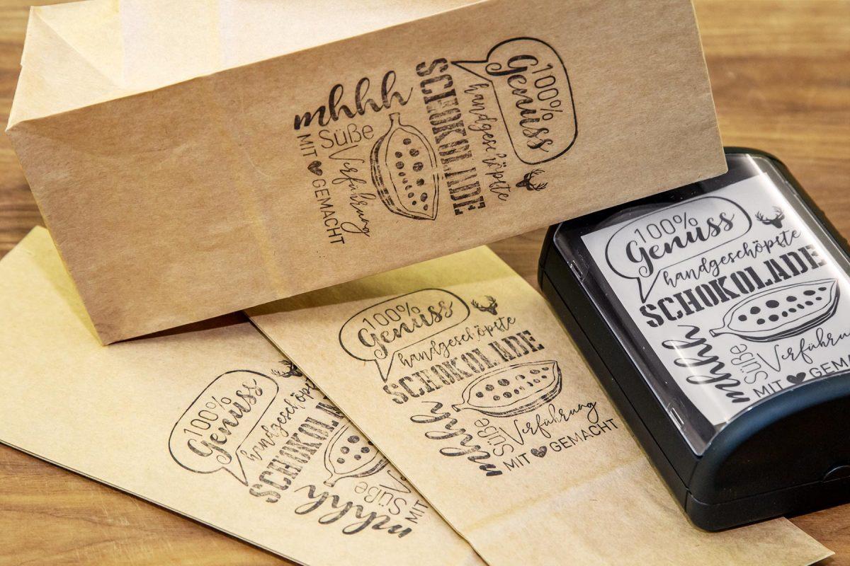 Verpackungsdesign Feinkost Schokolade | Feilmeiers Landleben