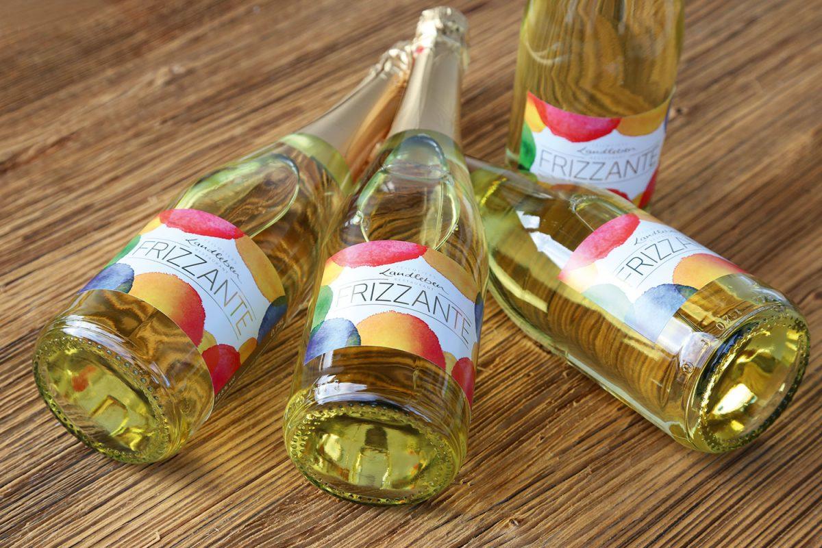 Verpackungsdesign Etikett Frizzante | Agentur Ritter