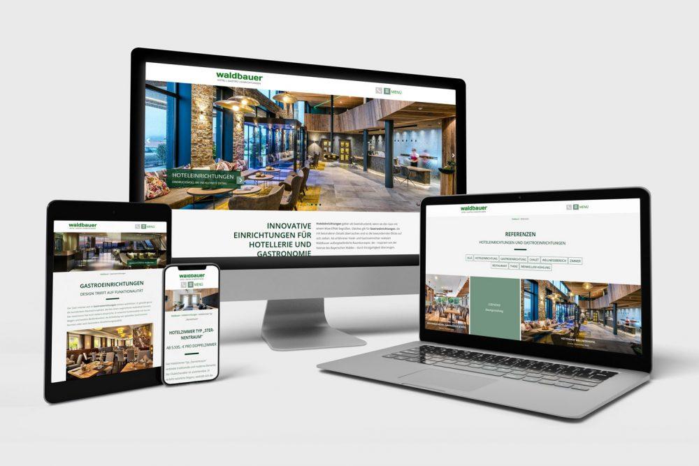 Waldbauer Holztechnik | Leistung Website