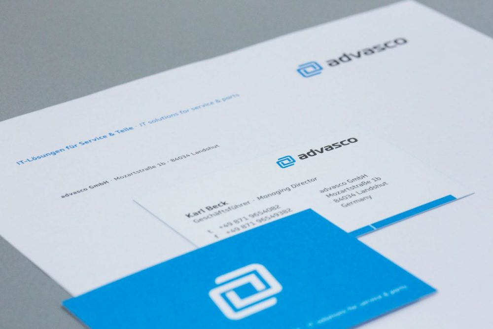 advasco | Leistung Corporate Design