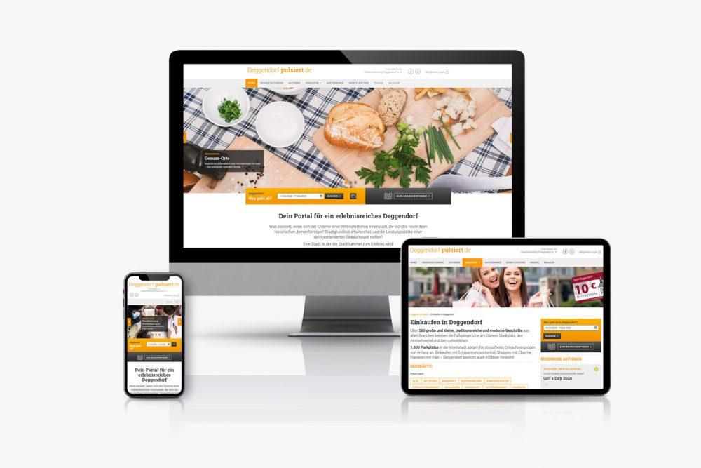 Deggendorf pulsiert | Leistung Website