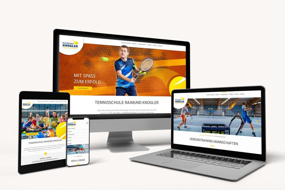Knogler Tennisschule | Leistung Website