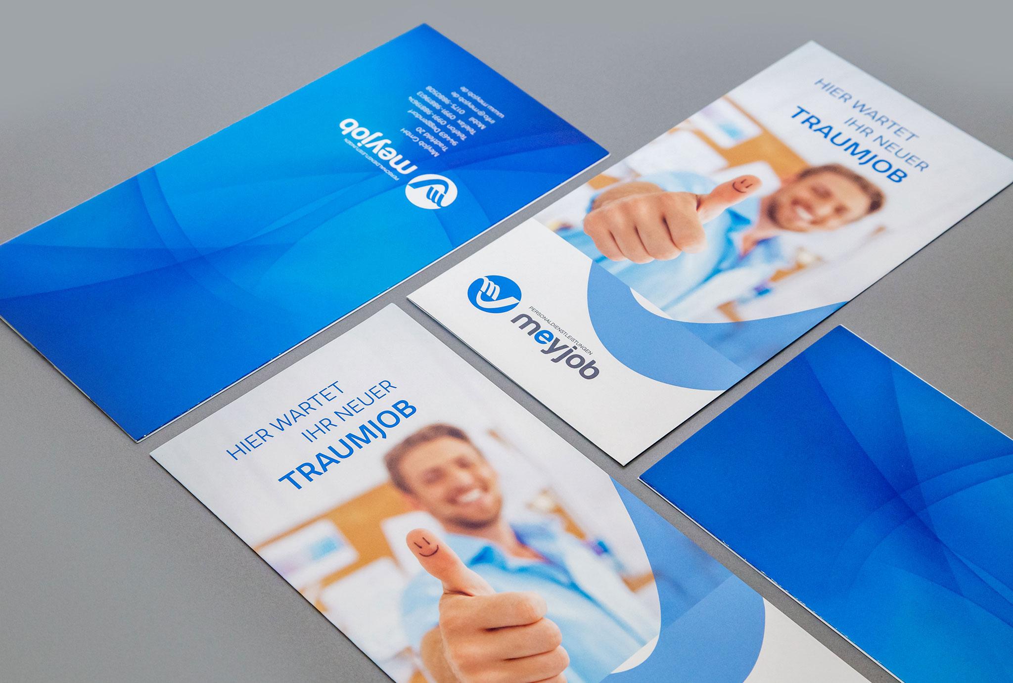 MeyJob Flyer | Werbeagentur Roland C. Ritter