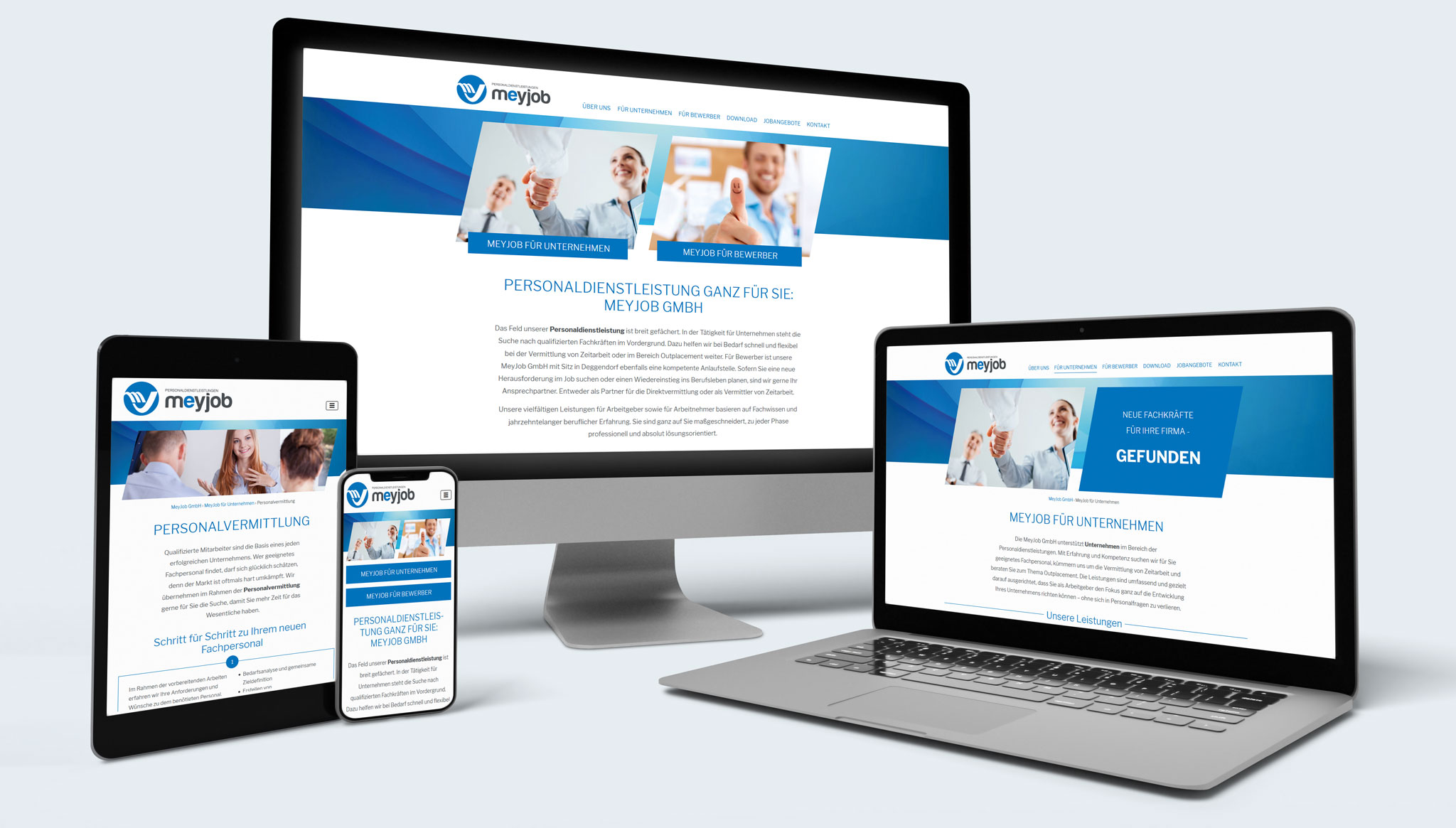 Meyjob Website | Werbeagentur Roland C. Ritter