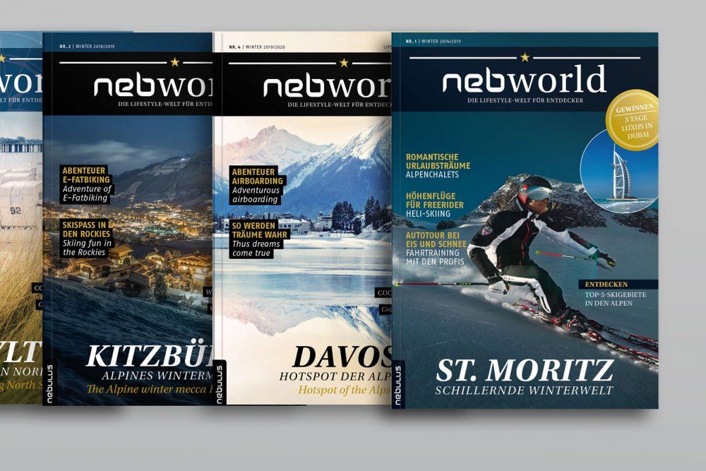Nebulus | Leistung Kundenmagazin