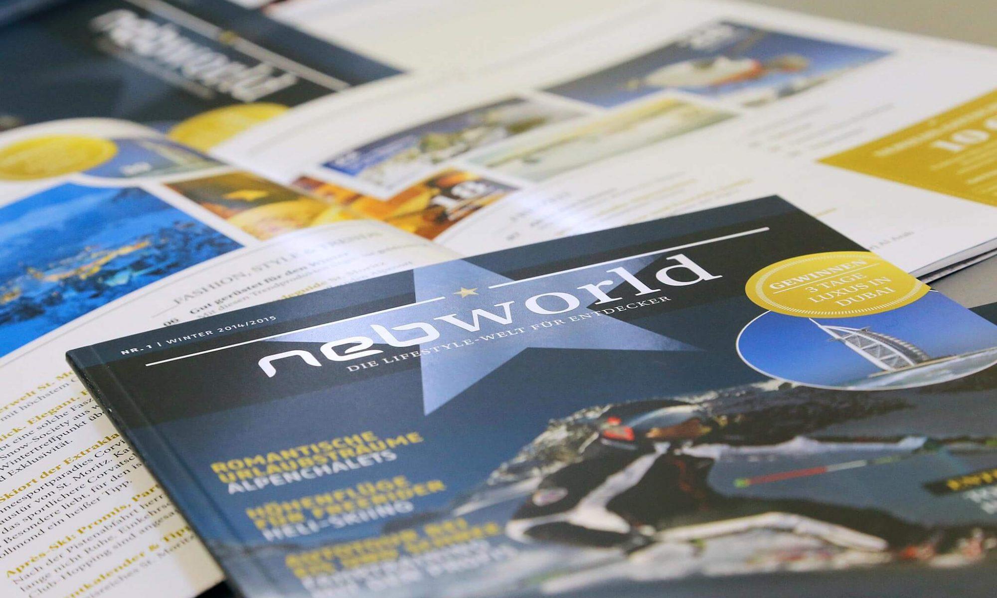 Printdesign Kundenmagazin | Werbeagentur Roland C. Ritter