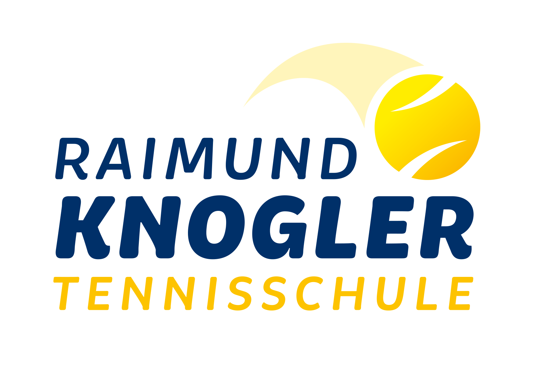 Logo Raimund Knogler Tennisschule | Werbeagentur Ritter