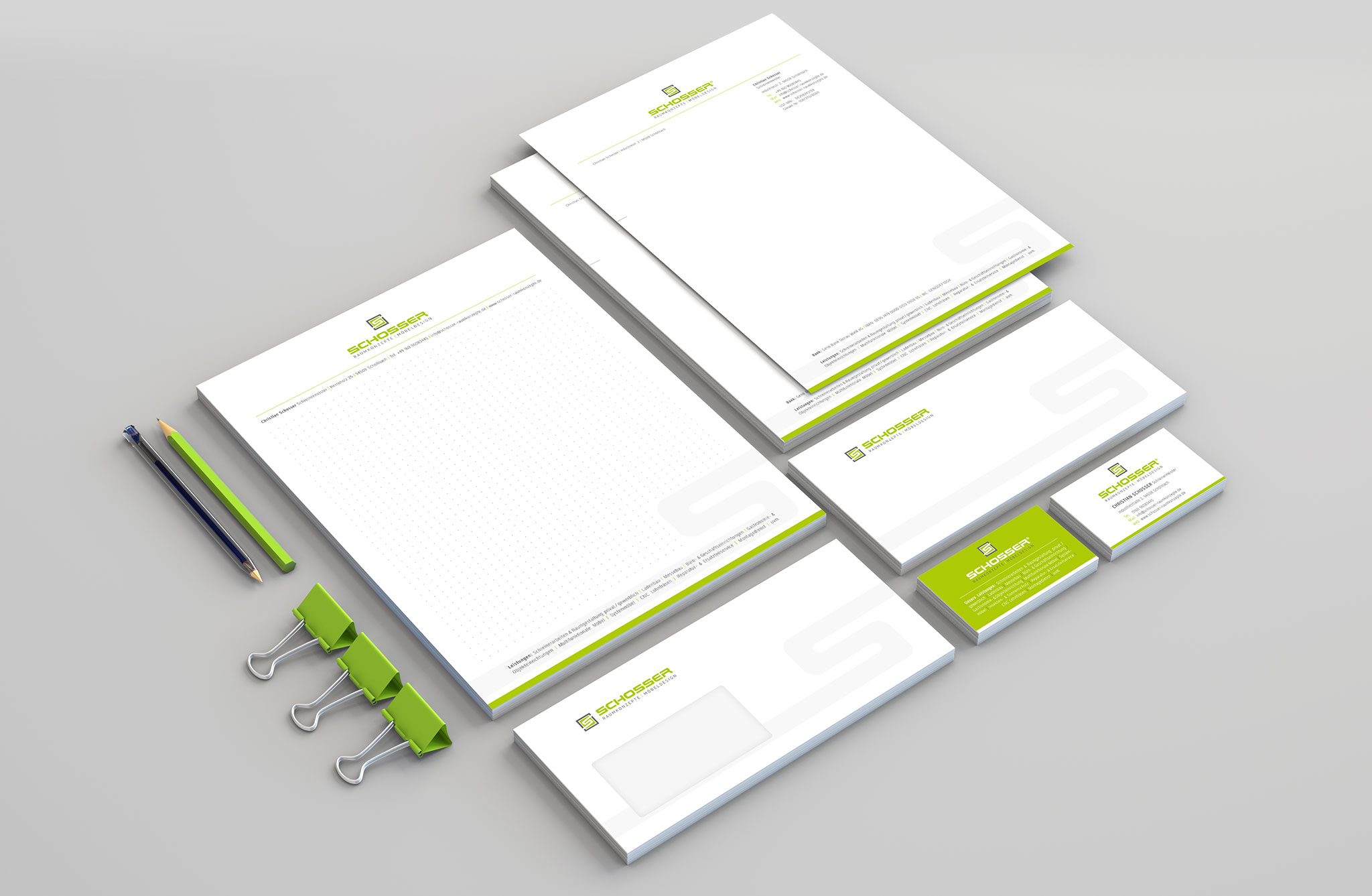 Schosser Corporate Design | Agentur Ritter