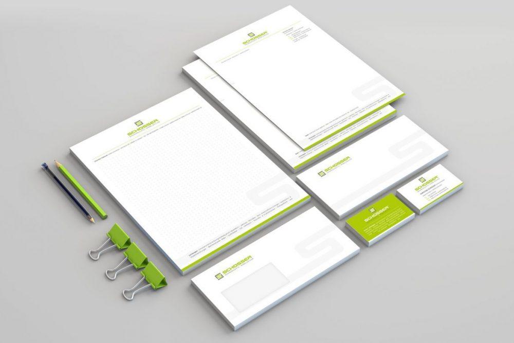 Schosser | Leistung Corporate Design