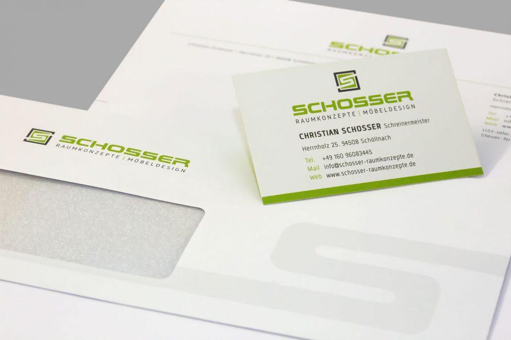 Schreinerei Schosser | Werbeagentur Ritter