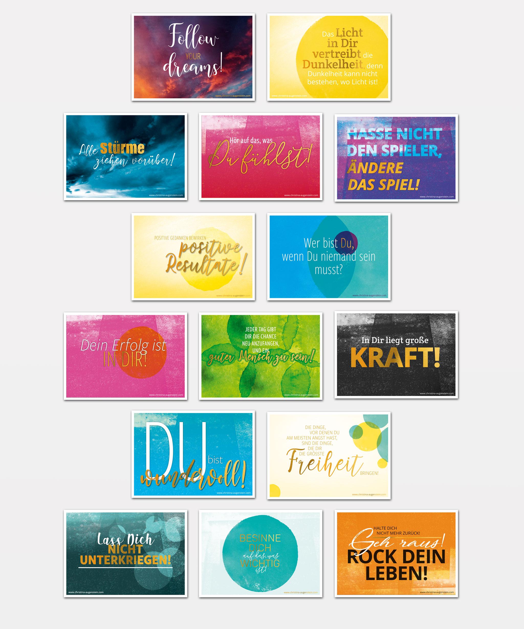 Christina Augenstein Postkarten-Set | Werbeagentur Roland C. Ritter