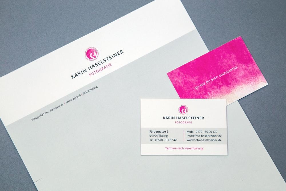 Karin Haselsteiner Corporate Design | Agentur Ritter