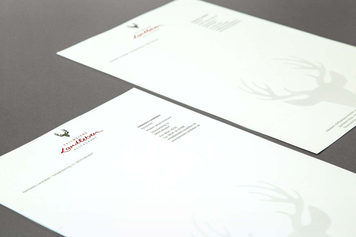 Briefbogen Feilmeiers Landleben | Agentur Ritter