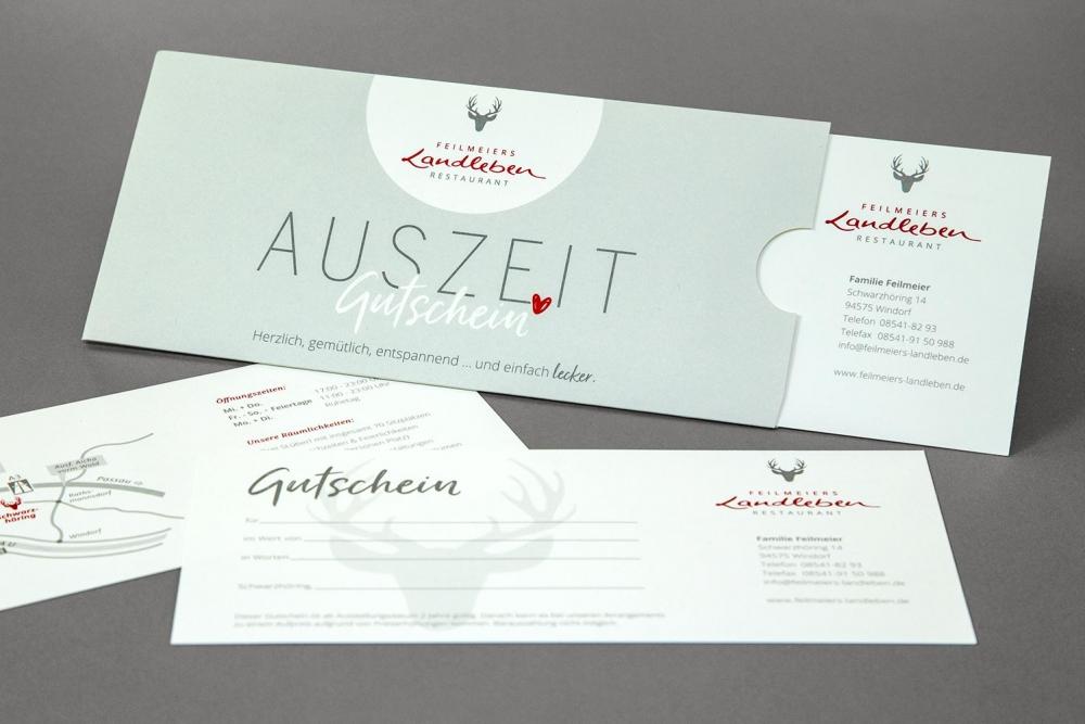 Restaurant Landleben Corporate Design | Agentur Ritter