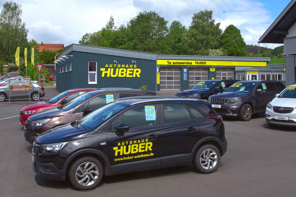 Autohaus Huber | Beschriftung Werbeagentur Ritter