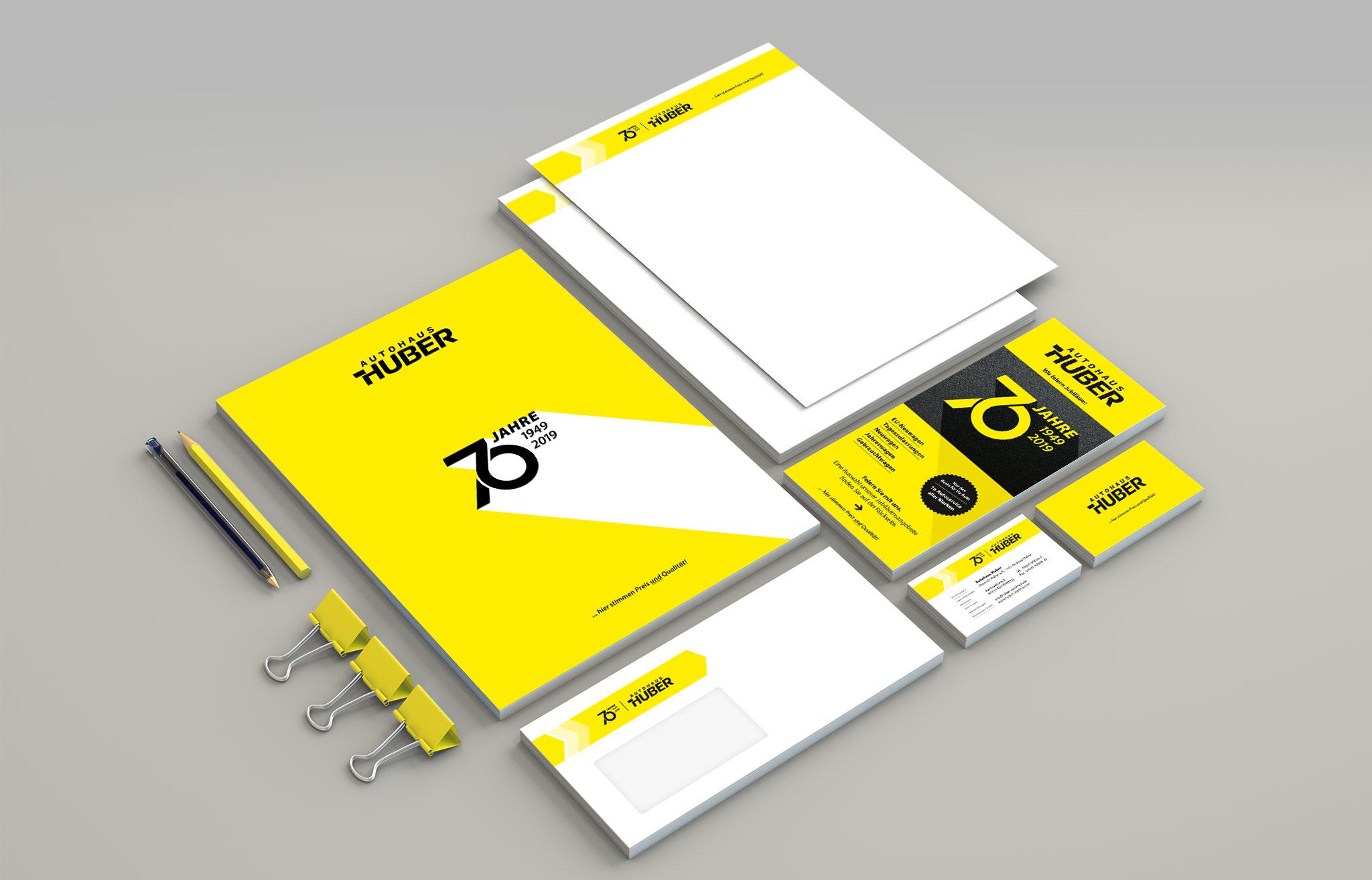 Autohaus Huber Corporate Design   Agentur Ritter